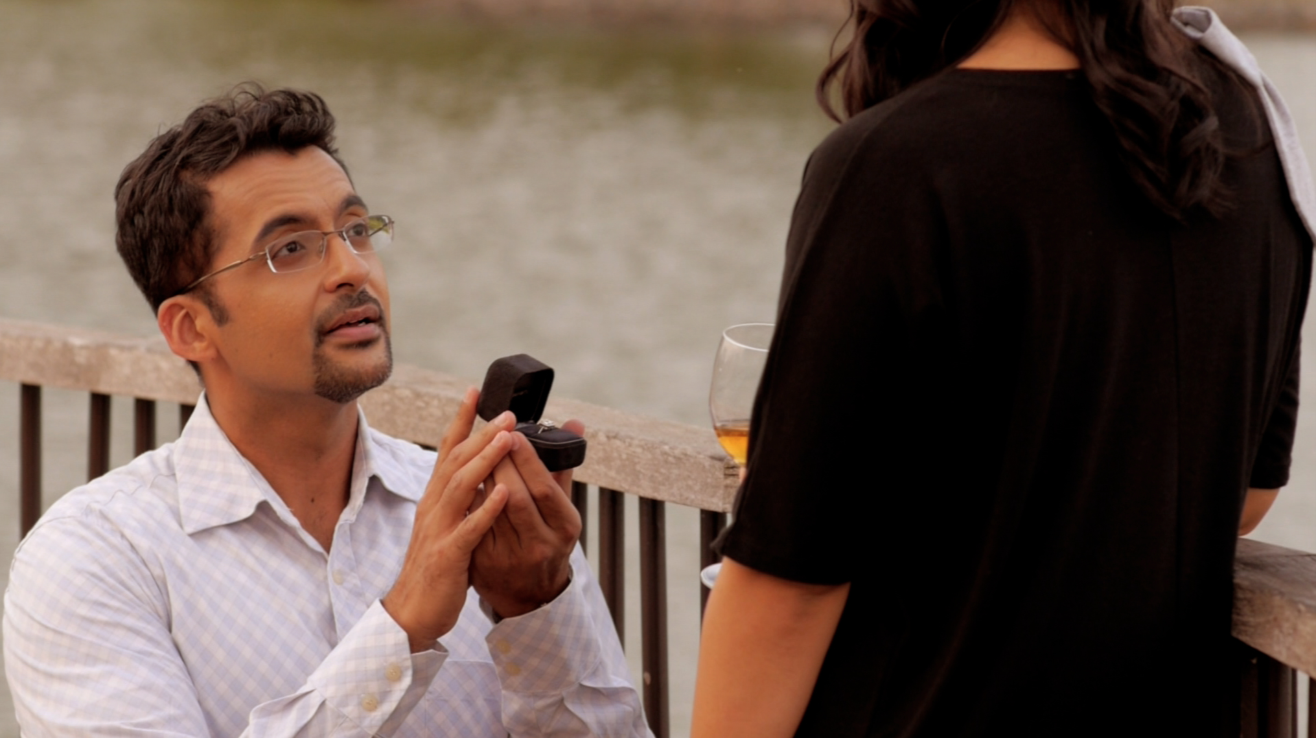 """Pavan Singh plays Charles in """"What Do Men Want?"""" drama series - the perfect guy... except ..."""