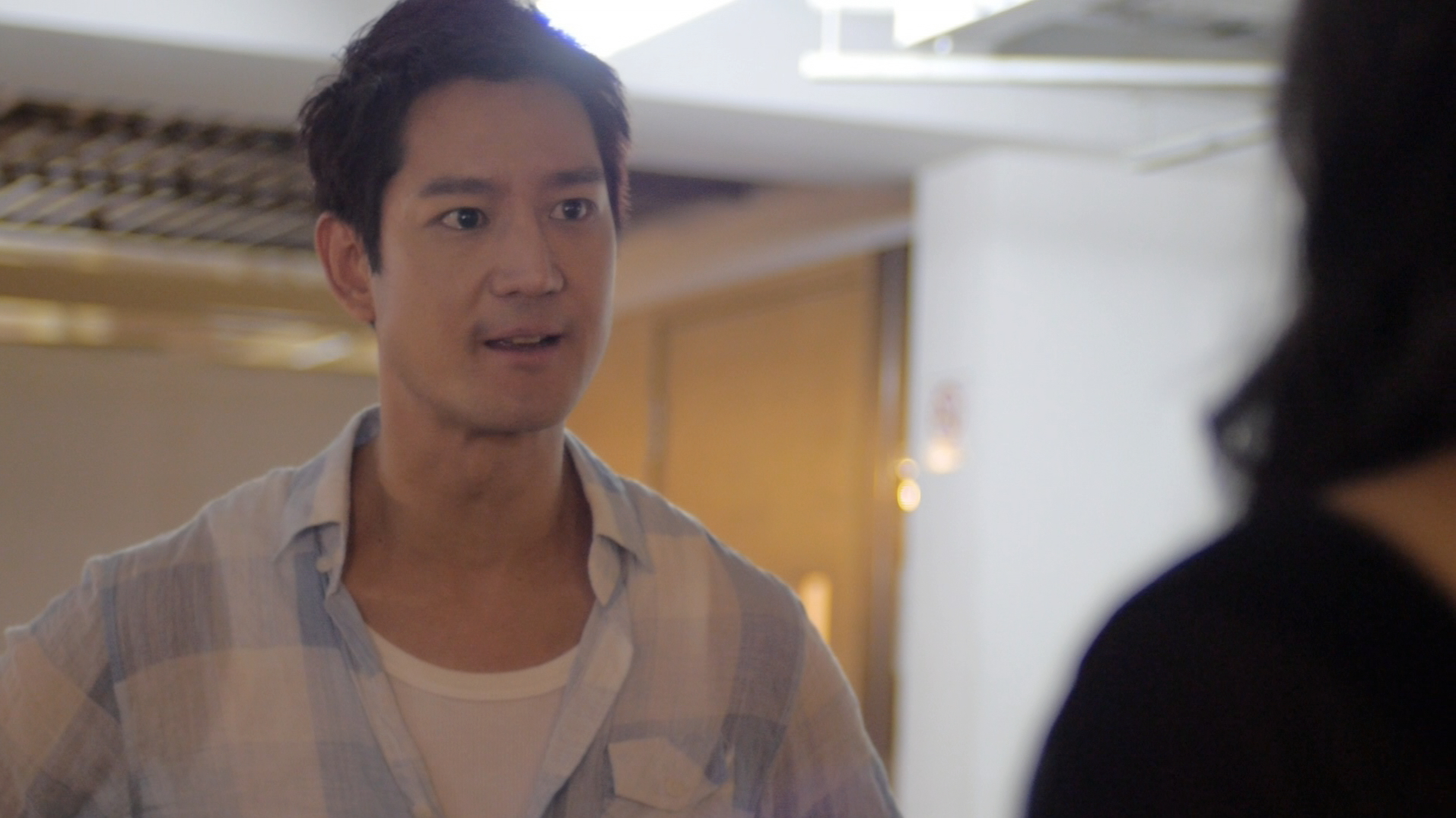"""Jason Chan as Jimmy with Glory Ngim as Jane in the last episode of """"What Do Men Want?"""" drama series."""