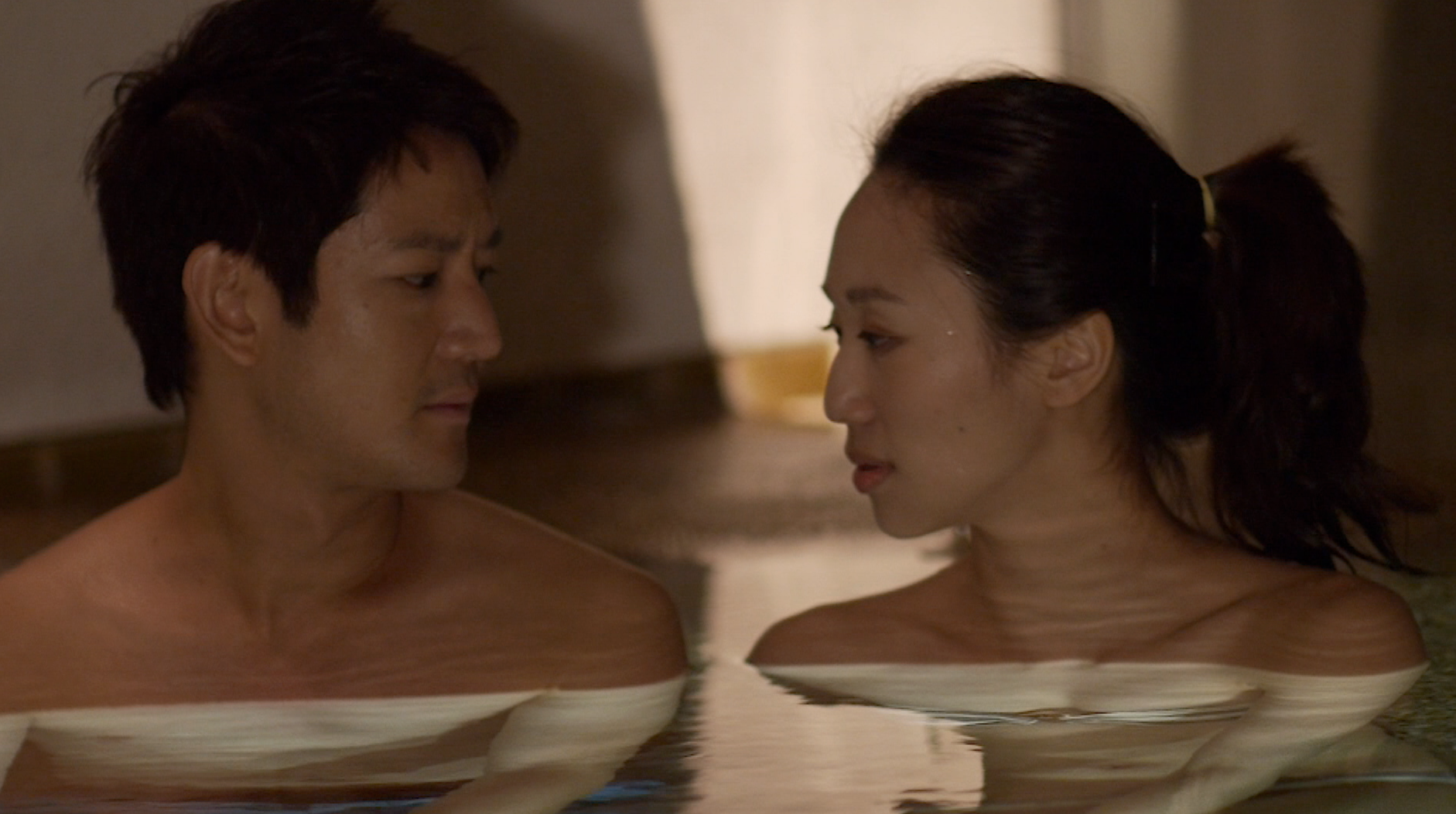 "Crossing the moral barrier! Jason Chan (Jimmy) and Oon Shu An (Coral) in episode 6 of ""What Do Men Want?"" drama series."