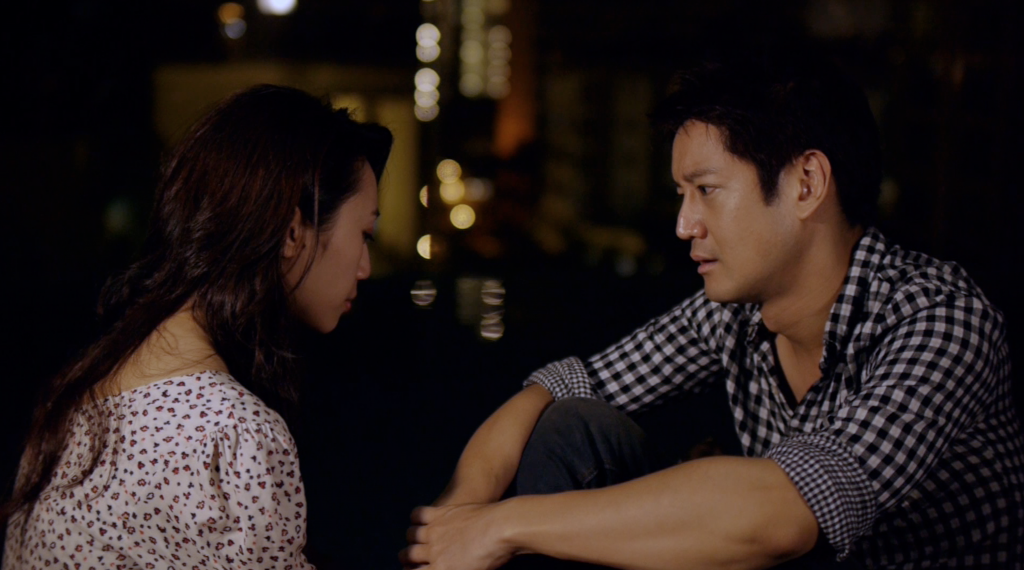 "Coral (Oon Shu An) and Jimmy  (Jason Chan) in episode 6 of ""What Do Men Want?"" drama series."