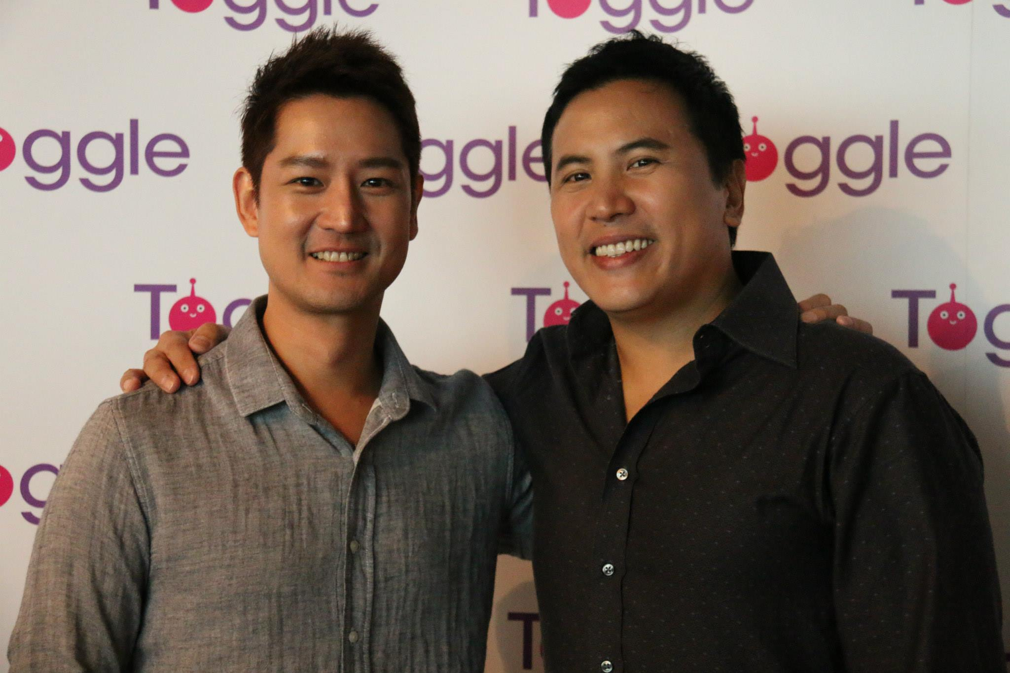 """Jimmy"" (Jason Chan) and ""Bob"" (Christian Lee) - co-creators and actors of ""What Do Men Want?"""