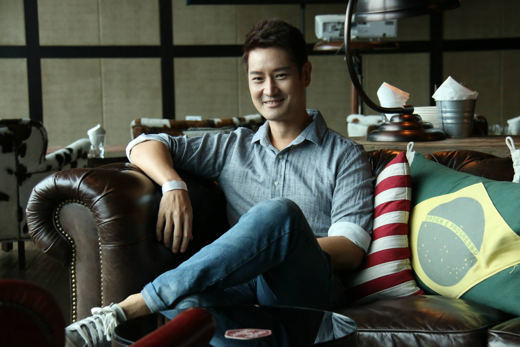 "Jason Chan - director, co-creator and lead actor of ""What Do Men Want?"" drama series."