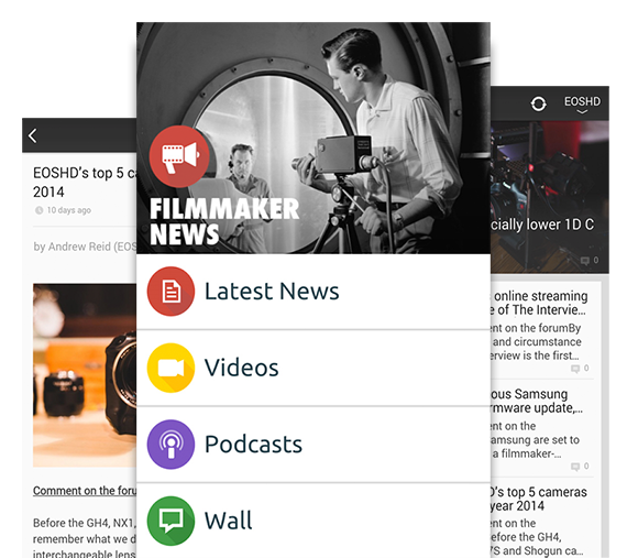 Filmmaker News App