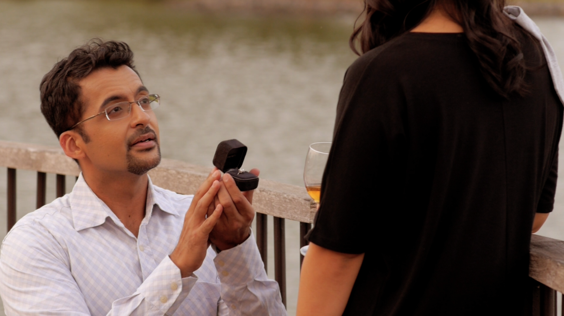 Pavan J Singh as Charles in What Do Men Want?