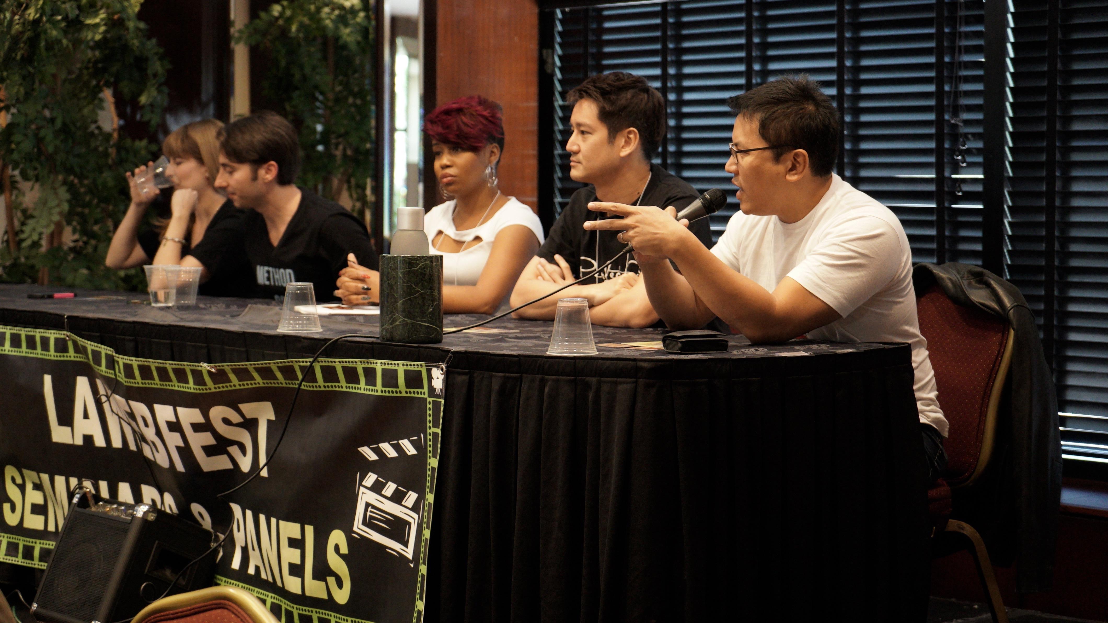 Speaking on a panel at LA Webfest 2015