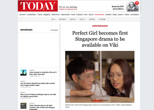Today Online Perfect Girl acquired by Viki for Global Distribution